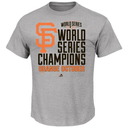 San Francisco Giants 2014 World Series Champions Locker Room T-Shirt - -