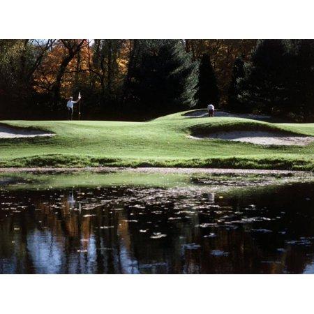 Patterson Golf Course, Failfield, Connecticut, USA Print Wall Art