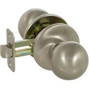 Callan KR1011 Fairfield Series Grade 3 Passage Knob Set, Satin Nickel