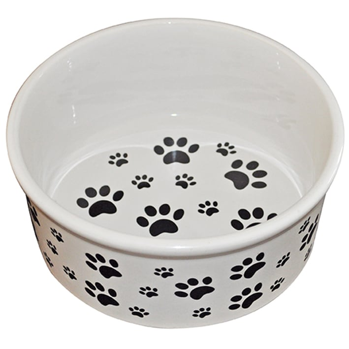Kitchenworthy Ceramic Pet Bowl Walmart Com