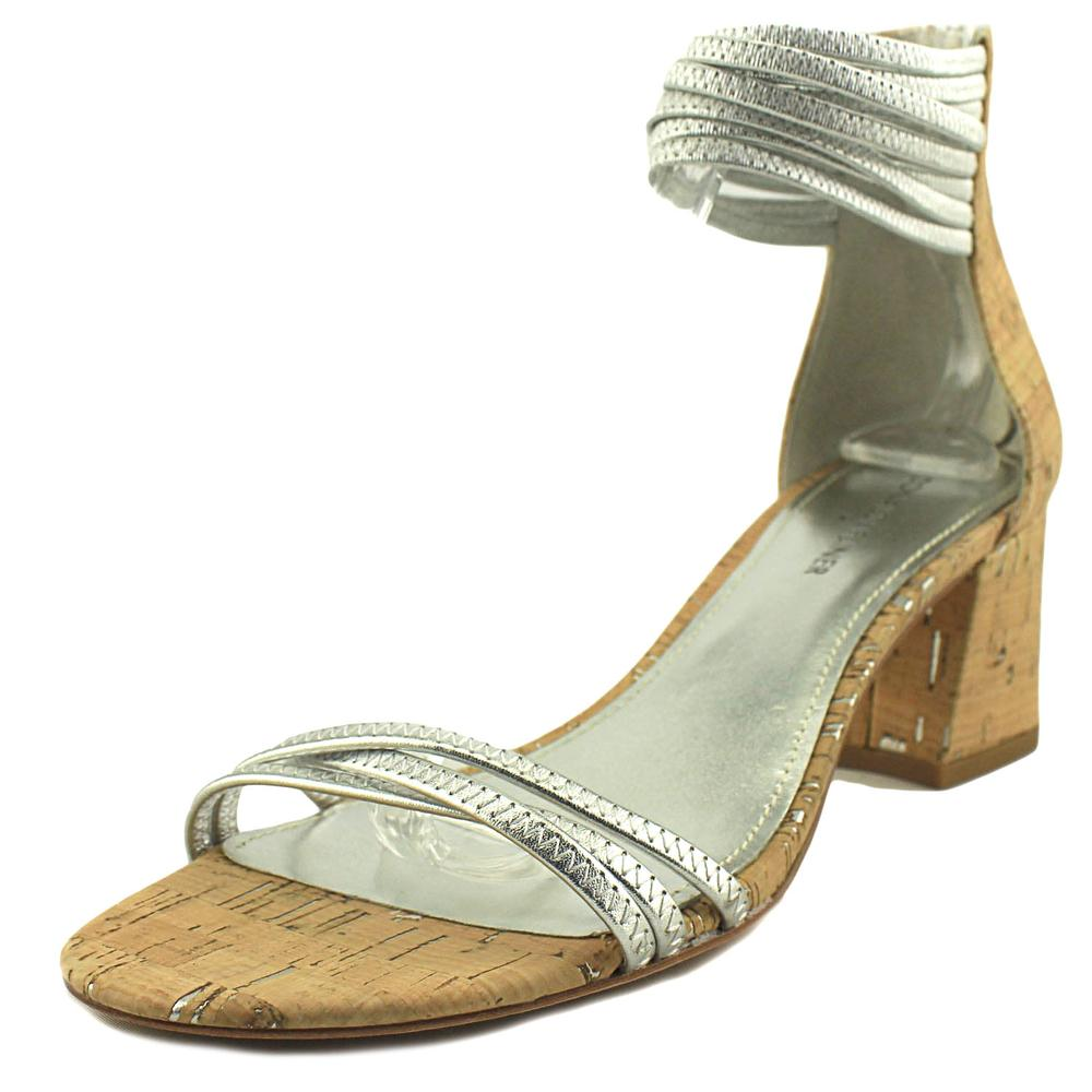 Donald By Donald J Pliner Essie Open Toe Canvas Sandals by Donald By Donald J Pliner