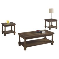 Manchester Brown Occasional Table Set