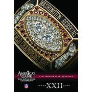 Nfl America's Game: 1987 Redskins (Super Bowl XXII) ( (DVD)) by Allied Vaughn