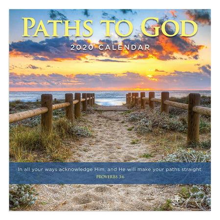 2020 Paths to God Mini Calendar (Mini Wall Calendar Kids)