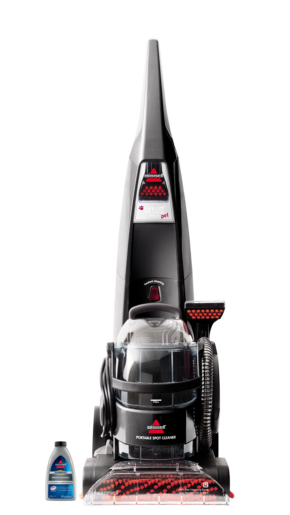 Bissell Deepclean Lift Off Deluxe Pet Upright Deep Cleaner