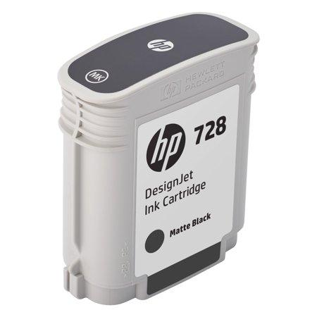 HP 728 (F9J64A) Matte Black Original Ink Cartridge, 69 (180 Ml Ink)