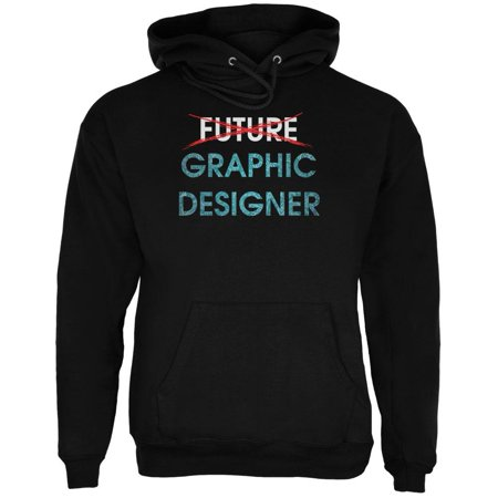 Designer Hoody (Graduation - Future Graphic Designer Mens Hoodie )