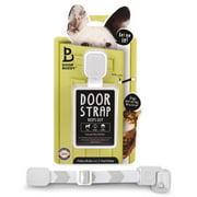 Door Buddy Door Latch to Dog Proof Litter Box. Great Interior Cat Door Alternative!