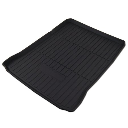TuningPros CLTM-889 Custom Fit Black Trunk Floor Mat For 2017-2018 BMW G30 5 Series 520i 530i 540i 550i - 1 pcs Set Cargo Liner BMW G30 5 Series 520i 530i