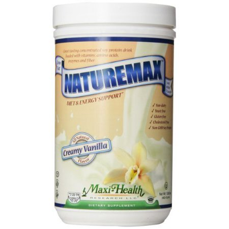 Maxi Health  Naturemax  Creamy Vanilla  1 06 Pound Tub Carrier To Shipping International Usps  Ups  Fedex  Dhl  14 28 Day By Dra