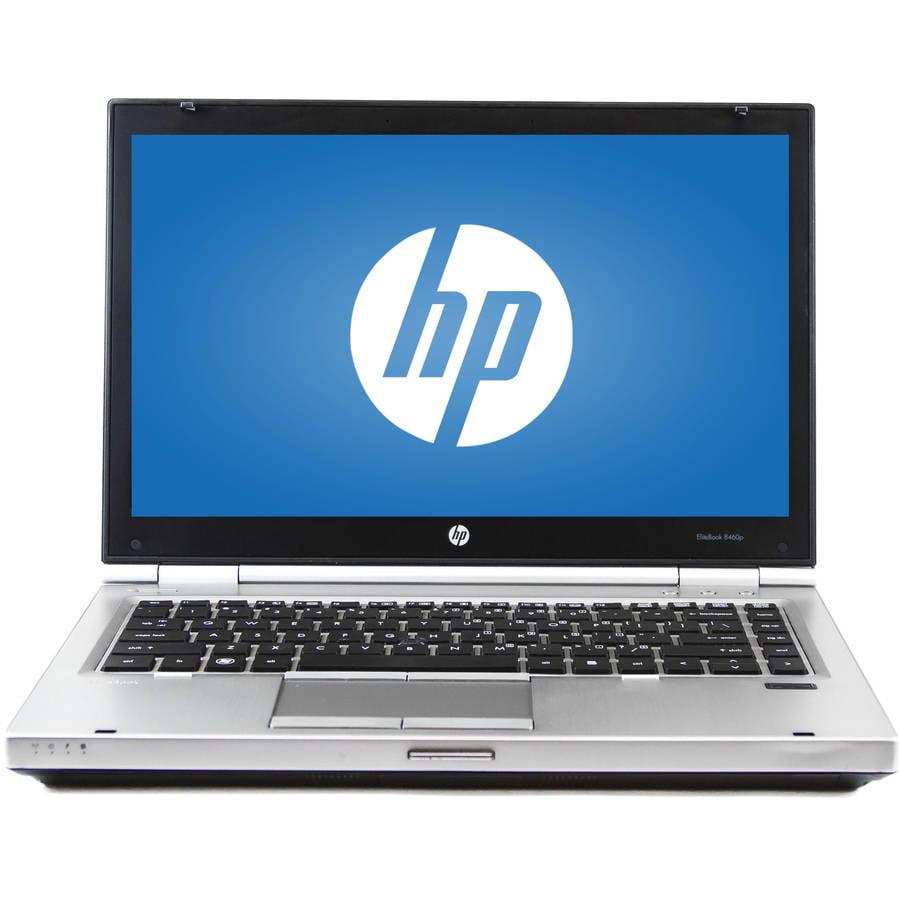 "Refurbished HP Silver 14"" Elitebook 8460P Laptop PC with Intel Core i7-2620M Processor, 6GB Memory, 500GB Hard Drive and Windows 7 Professional"
