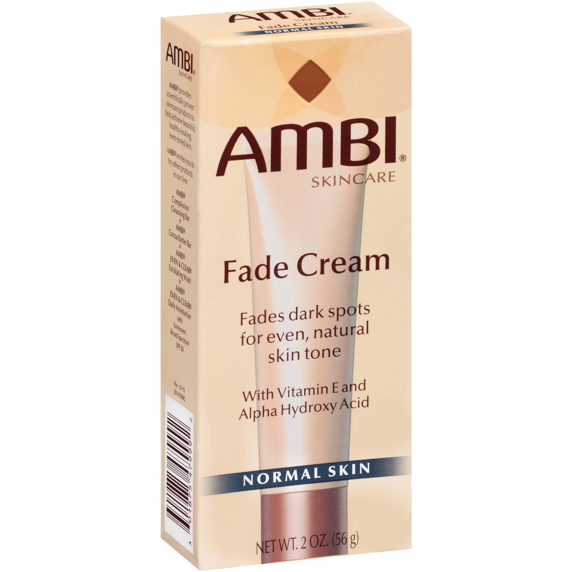 Ambi Skincare Fade Cream for Normal Skin, 2 oz