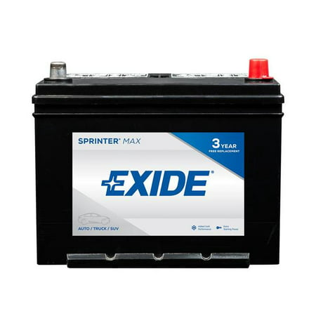 Exide SX124R 12V Sprinter Max Extrem Lead Acid 6-Cell 700 Cold Cranking Auto Battery](Extrem Car)