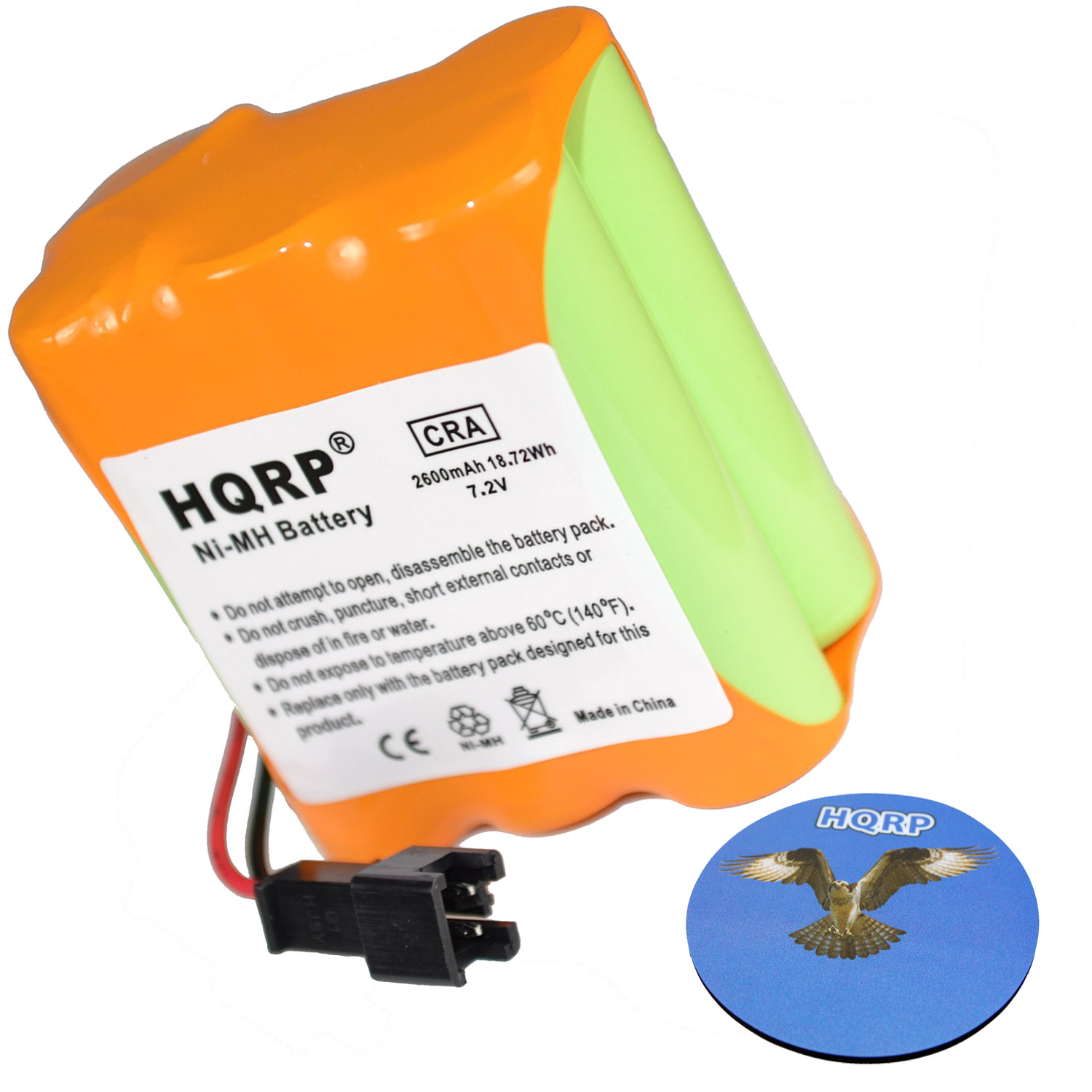 HQRP SUPER Extended 2600mAh Battery Pack compatible with Tivoli Audio iPAL Portable Audio Laboratory AM   FM Radio +... by HQRP