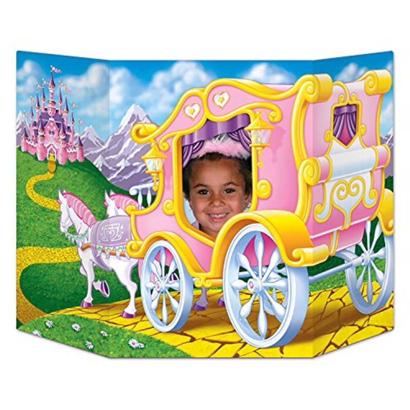 Beistle 57993I Princess Photo Prop, Pack Of 6