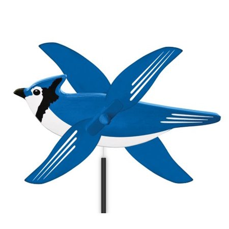 WindNSun WhirlyGig Mini Blue Jay