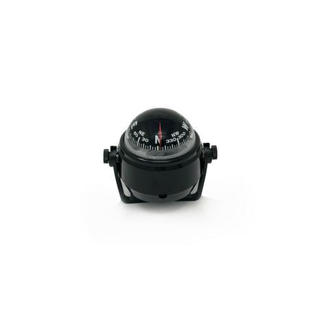 - Five Oceans Black Angler Compass W/Bracket Mount FO-2433