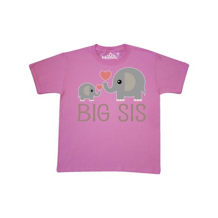 Big Sis Elephant Youth T-Shirt (Columbia Big Girls)