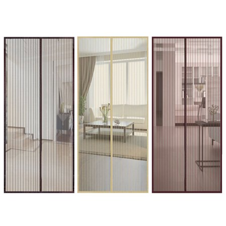 CUH Mosquito Screen Door Magnetic Mesh Fastening Flying Insect Door Curtain Fly Screen Bug Net ()