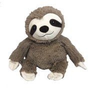 Intelex Warmies Microwavable French Lavender Scented Plush Elephan (Brown Sloth)