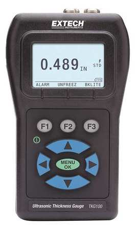 Digital Ultrasonic Thickness Gauge, Extech, TKG100 by Extech