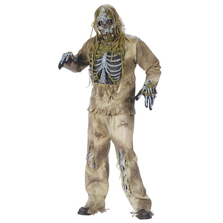 Fun Express - Skeleton Zombie Adult for Halloween - Apparel Accessories - Costume Accessories - Masks - Halloween - 1 Piece](Express Halloween Coupons)