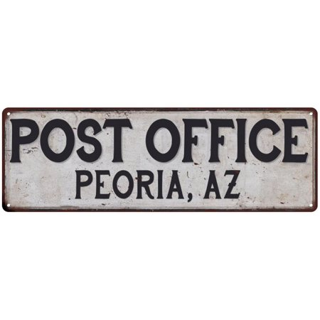 Peoria, Az Post Office Personalized Metal Sign Vintage 6x18 206180011136](Party City Peoria Az)