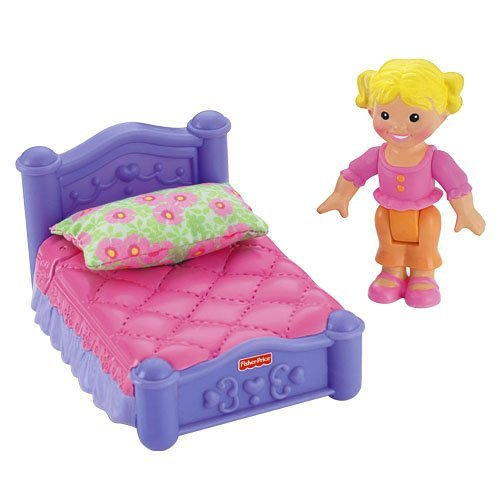 Fisher Price My First Dollhouse Sister S Room Walmart Com