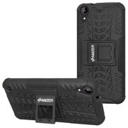 AMZER RUGGED DUAL LAYER HYBRID WARRIOR CASE COVER WITH STAND FOR HTC DESIRE 530