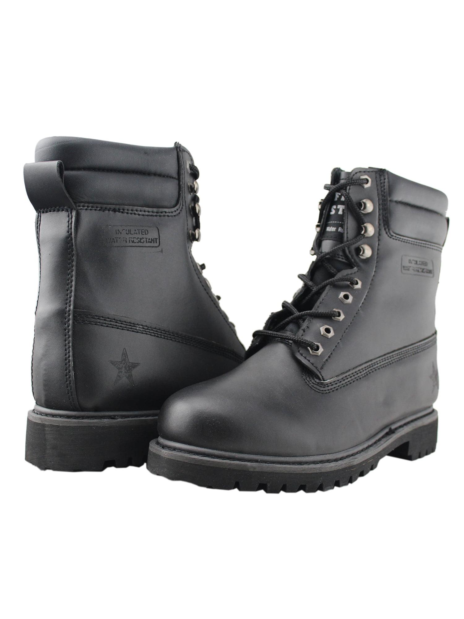 Work Boots for Men Steel-Toe Non-Slip