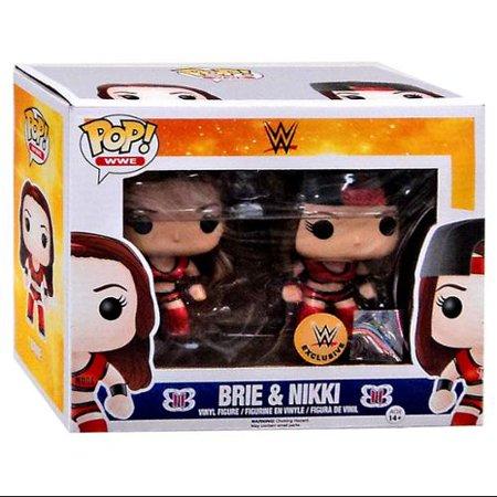 Brie   Nikki Vinyl Figure 2 Pack Bella Twins Funko Pop  Wwe