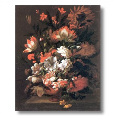 Victorian Tulip And Sunflowers Wall Picture Art