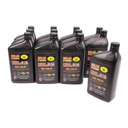 PennGrade BPO71446 1 Partial Synthetic SAE 10W-40 High Performance Oil - Case of 12 - 1 Quart Bottles - image 1 de 1