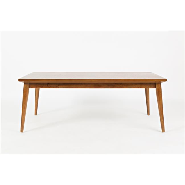 Jofran 1708 Modern Coffee Table Set, Walnut Pack of 3 by Jofran