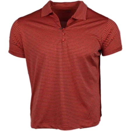 Page & Tuttle Womens Heather Stripe  Golf Casual  Polo -