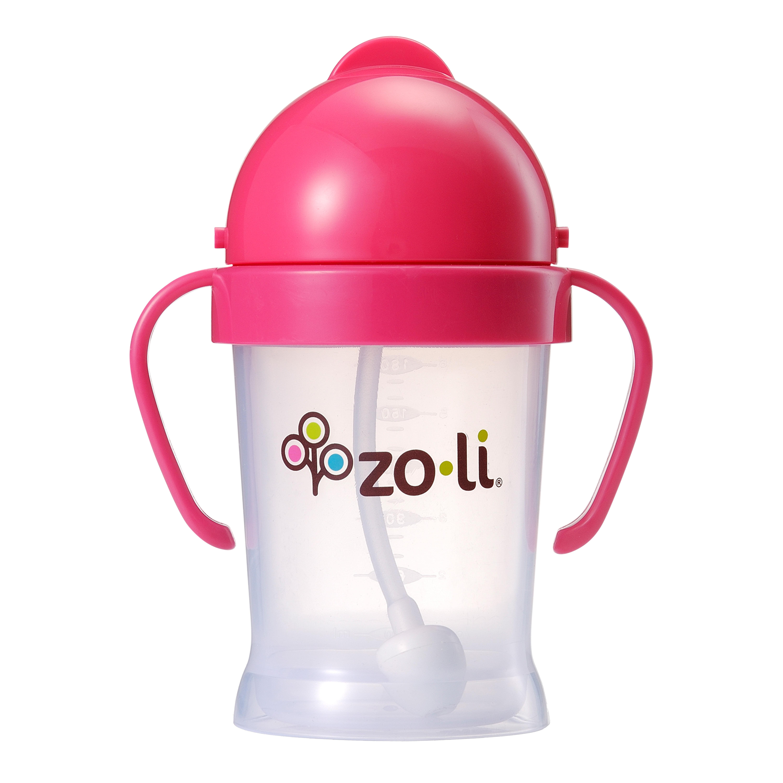 ZoLi BOT 6 oz Straw Sippy Cup