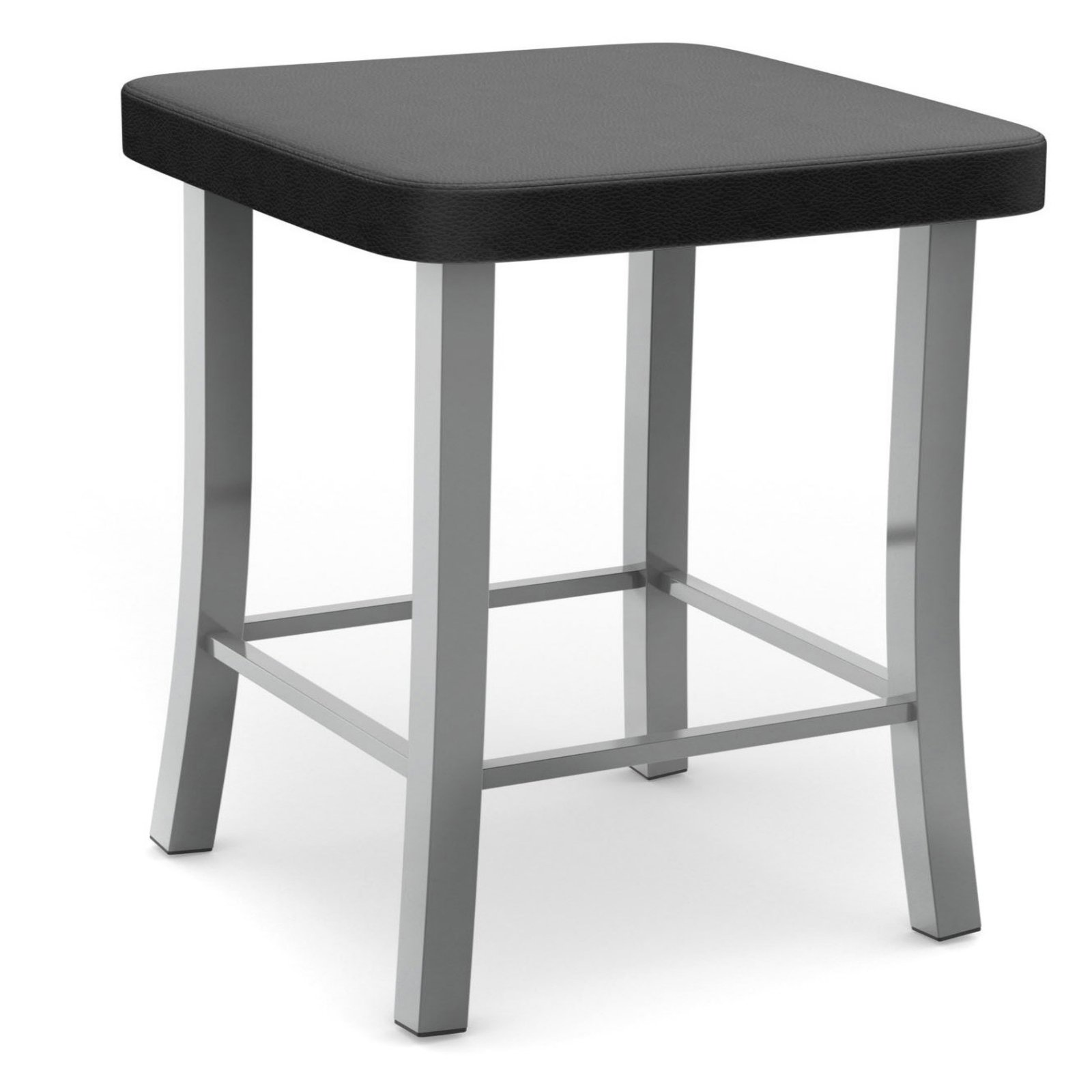 Amisco Ryan 25.25 in. Backless Counter Stool