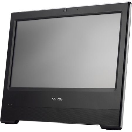 Shuttle XPC X50V6 Black All-in-One Computer - Intel Celeron 3865U 1.80 GHz DDR4 SDRAM - 15.6
