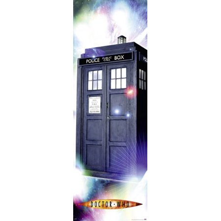 Doctor Who   Tv Show Door Poster   Print  The Classic Tardis   Season 1 4   2005    Dr  Who   Size  21  X 62