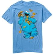 Cookie Monster Cookies Big Men's Graphic Tee