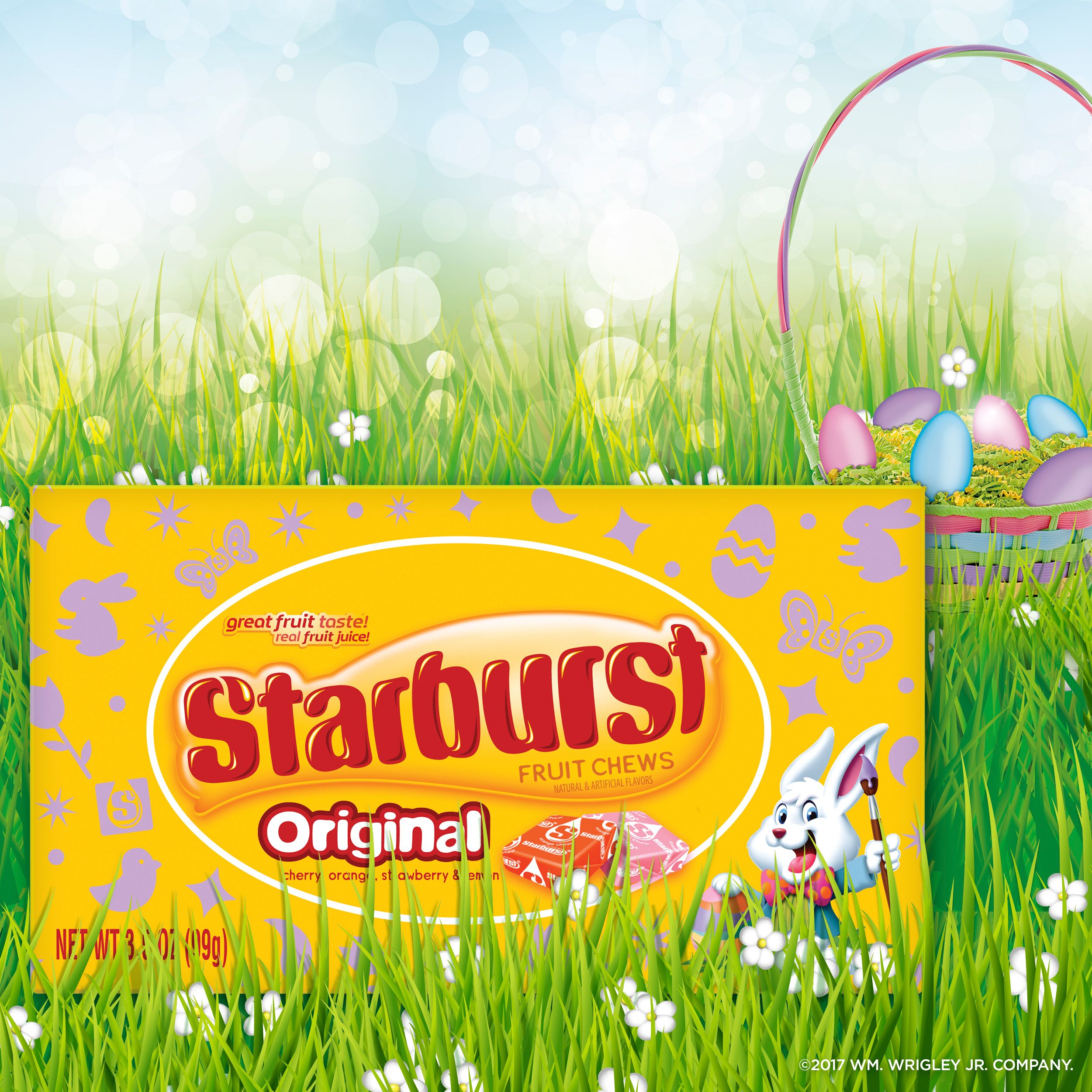 Starburst Original Fruit Chews Easter Candy Theater Box, 3 5