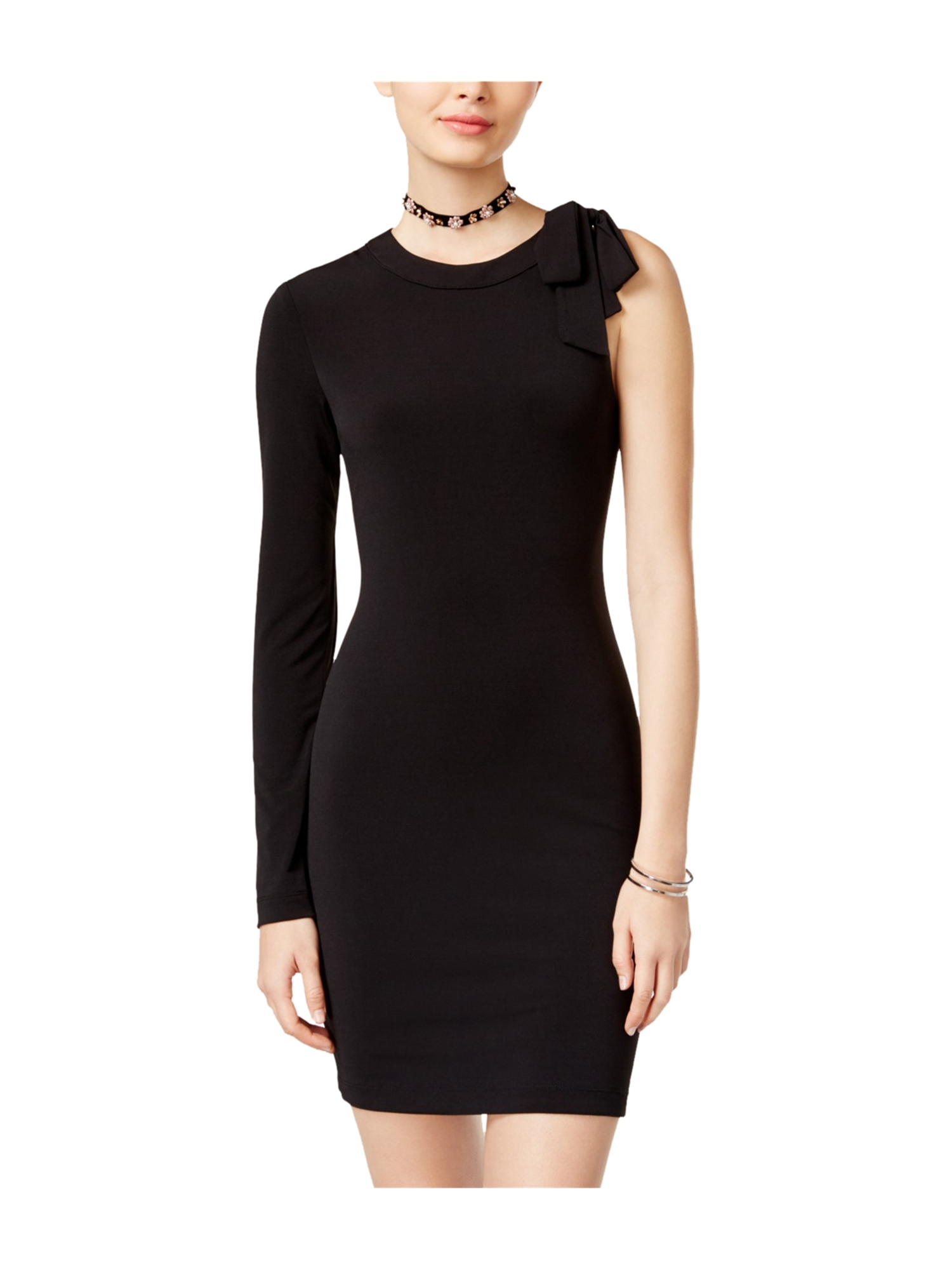 745271428a5 Teeze Me Womens Party Bodycon Dress black 1 - Juniors