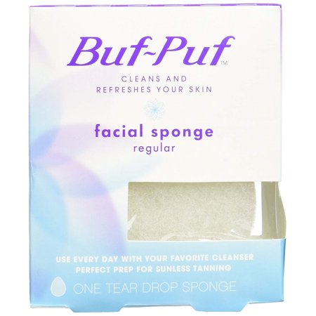 6 Pack Buf-Puf Facial Sponge, Regular - 1 - Buf Puf Facial Sponge Regular
