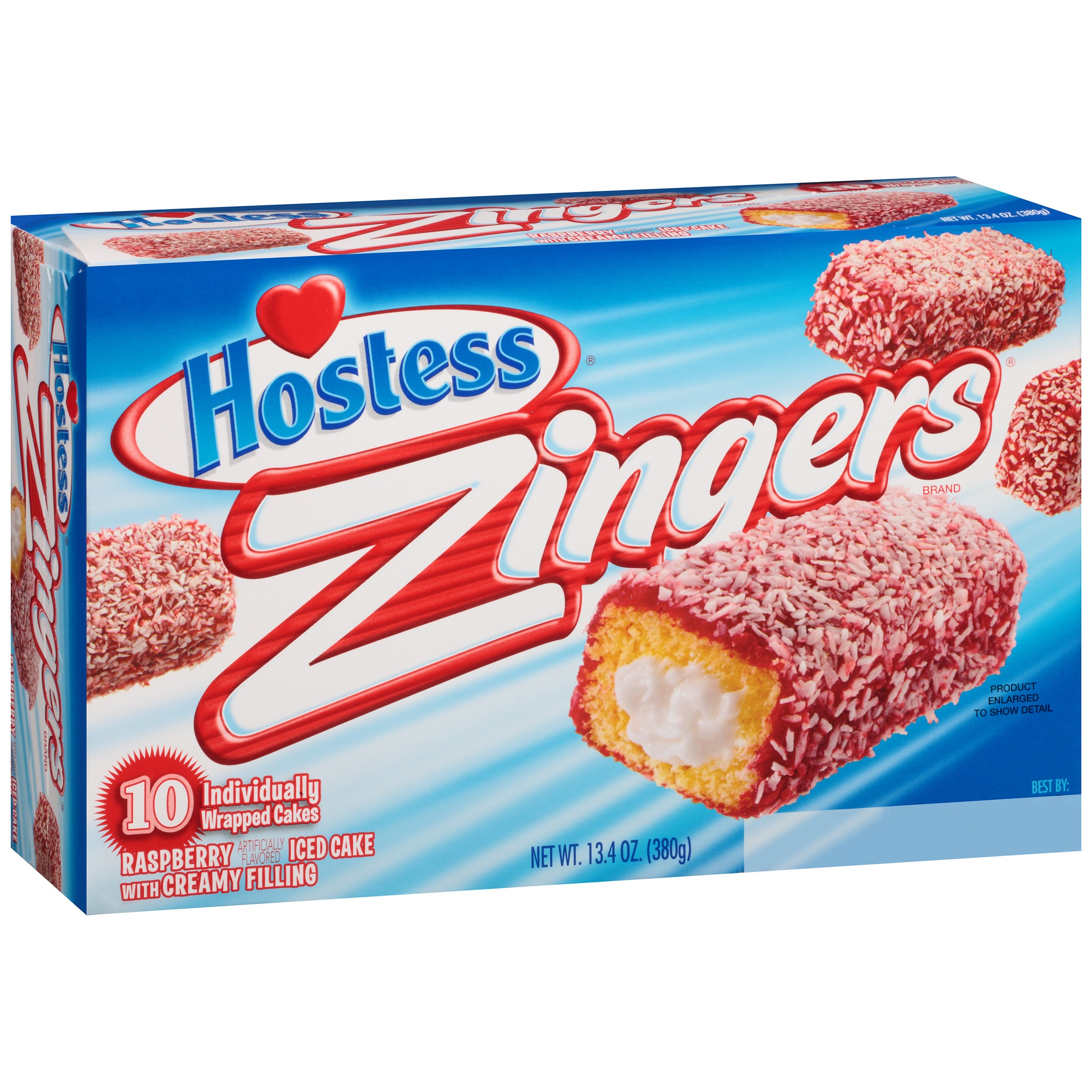 Hostess® Raspberry Zingers® 13.4 oz. Box