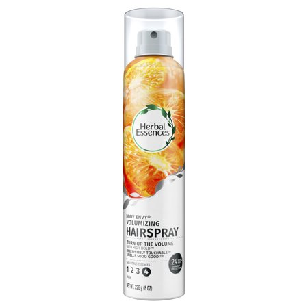 Herbal Essences Body Envy Volumizing Hairspray with Citrus Essences, 8 - White Hairspray Halloween