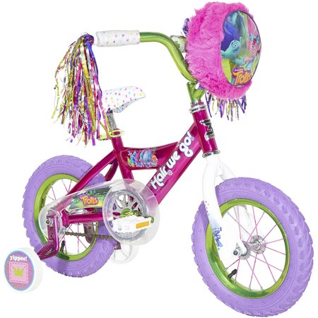 """12"""" Dynacraft Trolls Girls' Bike"""