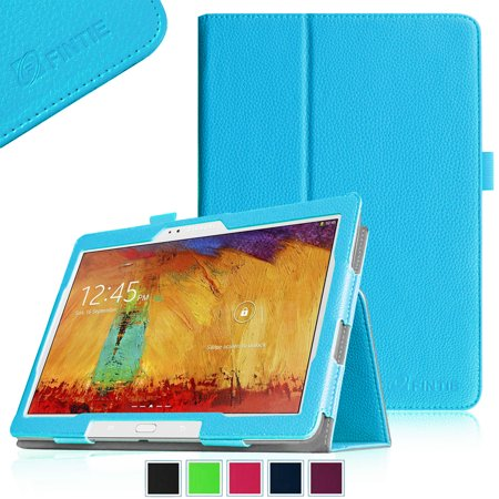 Fintie Samsung Galaxy Note 10 1 2014 Edition Folio Case   Slim Fit Book Style Leather Stand Cover  Blue
