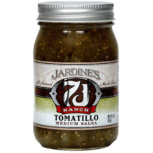Jardine's 7J Ranch Tomatillo Salsa, 16 oz (Pack of 6)