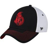 Ottawa Senators Fanatics Branded Iconic Bold Speed Stretch Fit Flex Hat - Black/White