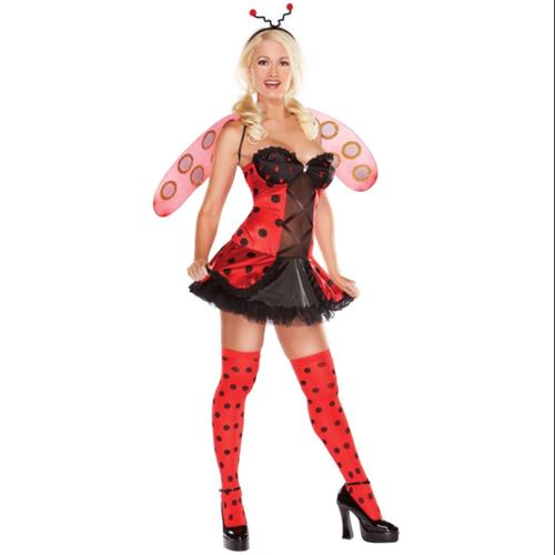 Ladybug Playboy Adult Costume Kit: Large - Lady Bug Costume Adult